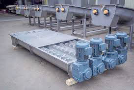 Screw Conveyor For Bagasse Handling